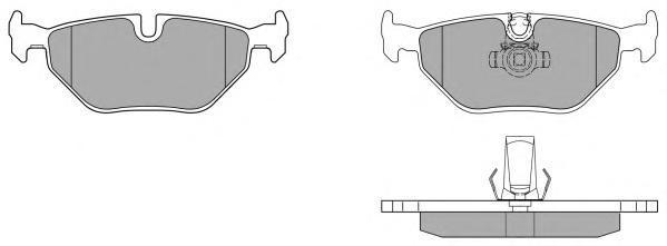 Колодки тормозные дисковые Fremax, комплект. FBP-0733-01FBP-0733-01