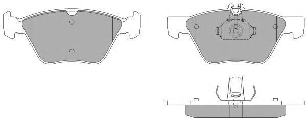 Колодки тормозные дисковые Fremax, комплект. FBP-1047FBP-1047