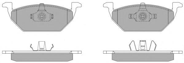 Колодки тормозные дисковые Fremax, комплект. FBP-1070FBP-1070