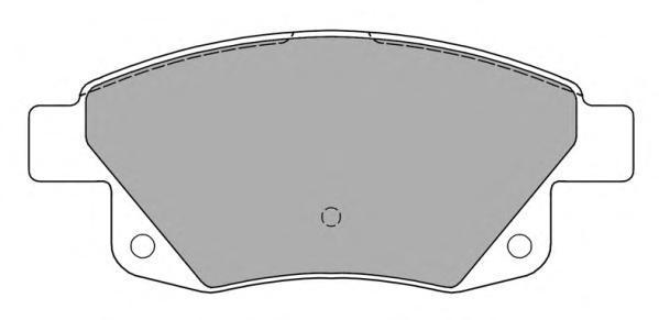 Колодки тормозные дисковые Fremax, комплект. FBP-1452FBP-1452