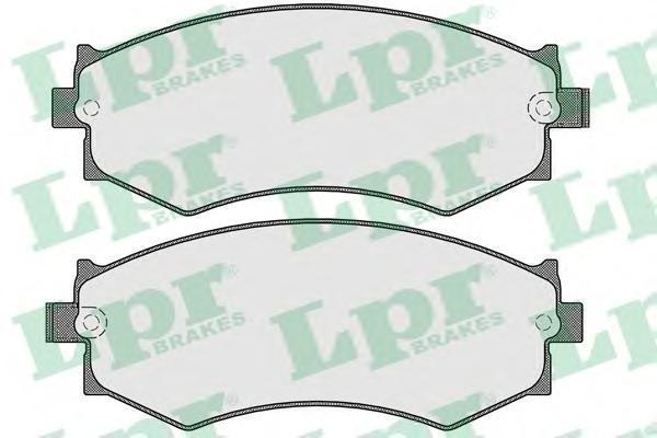 Колодки тормозные дисковые LPR / AP. 05P56305P563