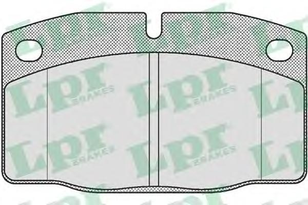 Колодки тормозные дисковые LPR / AP. 05P19005P190