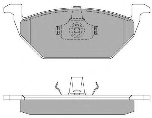 Колодки тормозные дисковые Fremax, комплект. FBP-1069FBP-1069