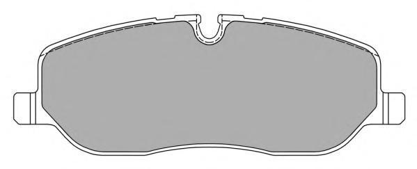 Колодки тормозные дисковые Fremax, комплект. FBP-1566FBP-1566