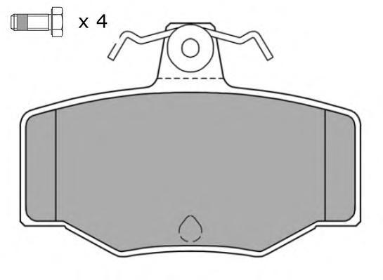 Колодки тормозные дисковые Fremax, комплект. FBP-0789FBP-0789