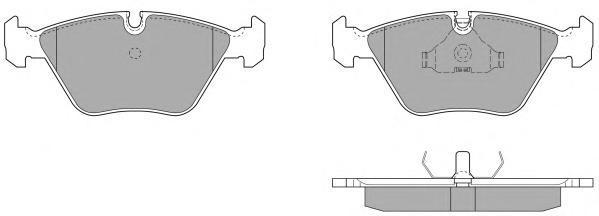 Колодки тормозные дисковые Fremax, комплект. FBP-0624FBP-0624