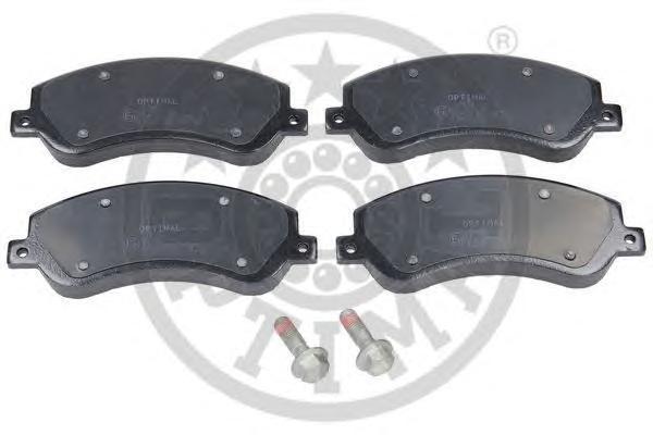 Колодки тормозные дисковые Optimal, передние. 1244612446
