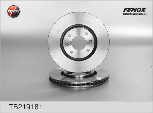 Диск тормозной Fenox, 2 шт. TB219181TB219181