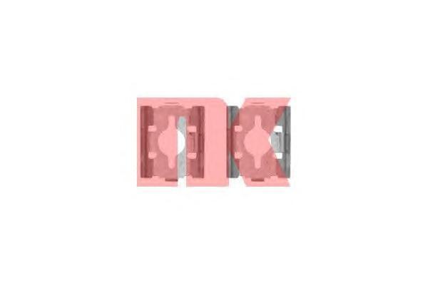 Ремкомплект NK, для тормозных барабанных колодок. 79196007919600