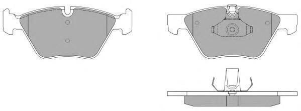 Колодки тормозные дисковые Fremax, комплект. FBP-1437FBP-1437