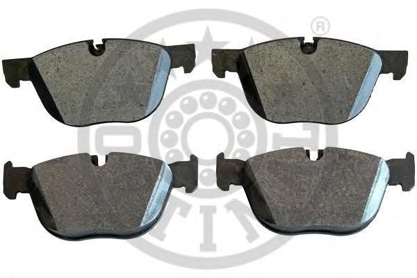 Колодки тормозные дисковые Optimal, передние. 1243412434
