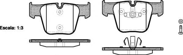 Колодки тормозные дисковые Remsa, комплект. 121800121800