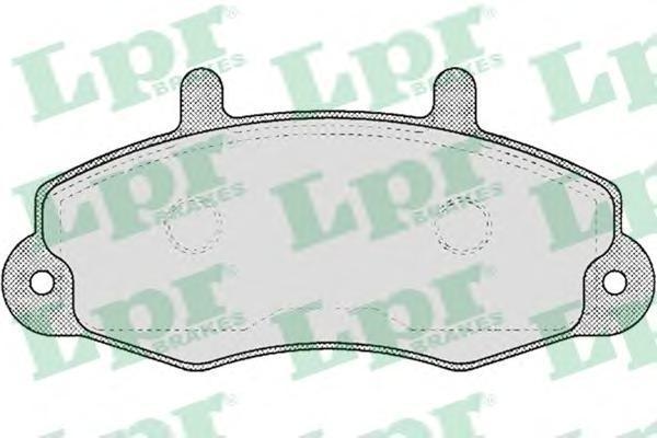 Колодки тормозные дисковые LPR / AP. 05P48105P481