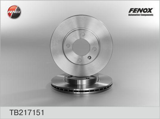 Диск тормозной Fenox, 2 шт. TB217151TB217151