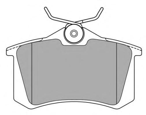 Колодки тормозные дисковые Fremax, комплект. FBP-0615FBP-0615