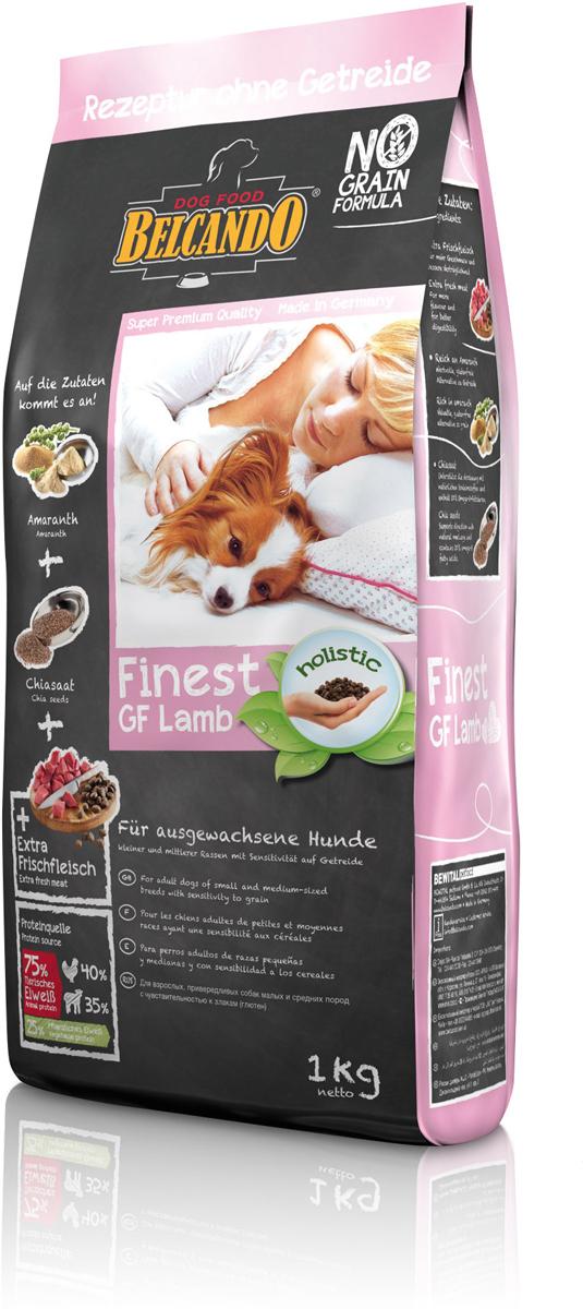 Сухой корм Belcando Finest GF Lamb для собак малых и средних пород, беззерновой, ягненок, 1 кг554305Питательный альтернативный корм для собак, которые плохо переносят глютен и зерновые. В этом составе корма зерновые заменены амарантом высокого качества. С добавлением полезных семян чии, которые также были одним из первых продуктов питания, -делает данный корм особенно сбалансированным. Содержит легко усваиваемую и вкусную баранину. Беззерновой корм Belcando Finest GF Lamb особенно вкусный благодаря эффекту соуса, который возникает при добавлении тёплой воды.Богатое содержание амаранта -питательная альтернатива злакам, без содержания глютена Семена чии -поддерживают пищеварение при помощи природных слизистых веществ и содержат 20% жирных кислот Омега-3. ProVital -усиливает защитные силы организма собаки благодаря содержанию компонентов клеточных стенок (бета-гликанов) из натуральных дрожжей. Изготовлено без применения зерна, сои, молочных продуктов.Состав: свежее мясо ягнёнка, печень, лёгкие (всего: 30 %); амарант (17 %); картофельный крахмал; белок домашней птицы, пониженной зольности, высушенный (11,5 %); гороховая мука; белок мяса ягнёнка, высушенный (10 %); гидролизат печени птицы (5 %); мука из виноградной косточки; пивные дрожжи, сушёные (2,5 %); цареградский стручок, высушенный; сухой жом, обессахаренный; высушенное яйцо; cсемена чии (1 %); поваренная соль; калий хлористый; травы, сушёные (всего: 0,2 %; листья крапивы, корень горечавки, золототысячник, ромашка, фенхель, тмин, омела, тысячелистник, листья ежевики); экстракт юккиПротеин -25%, жир -14,5%. Источники белка: животный белок -75% (мясо птицы -40%, ягнятина -35%), растительный белок -25%