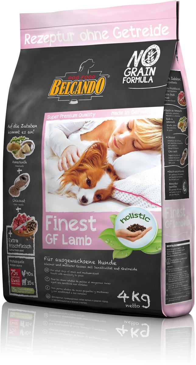 Сухой корм Belcando Finest GF Lamb для собак малых и средних пород, беззерновой, ягненок, 4 кг554315Питательный альтернативный корм для собак, которые плохо переносят глютени зерновые. В этом составе корма зерновые заменены амарантом высокогокачества. С добавлением полезных семян чии, которые также были одним изпервых продуктов питания, -делает данный корм особенно сбалансированным. Содержит легкоусваиваемую и вкусную баранину. Беззерновой корм Belcando Finest GF Lambособенно вкусный благодаря эффекту соуса, который возникает при добавлениитёплой воды.Богатое содержание амаранта -питательная альтернатива злакам, без содержания глютена Семена чии -поддерживают пищеварение при помощи природных слизистых веществ исодержат 20% жирных кислот Омега-3. ProVital -усиливает защитные силы организма собаки благодаря содержаниюкомпонентов клеточных стенок (бета-гликанов) из натуральных дрожжей. Изготовлено без применения зерна, сои, молочных продуктов.Состав: свежее мясо ягнёнка, печень, лёгкие (всего: 30 %); амарант (17 %);картофельный крахмал; белок домашней птицы, пониженной зольности,высушенный (11,5 %); гороховая мука; белок мяса ягнёнка, высушенный (10 %);гидролизат печени птицы (5 %); мука из виноградной косточки; пивные дрожжи,сушёные (2,5 %); цареградский стручок, высушенный; сухой жом,обессахаренный; высушенное яйцо; cемена чии (1 %); поваренная соль; калийхлористый; травы, сушёные (всего: 0,2 %; листья крапивы, корень горечавки,золототысячник, ромашка, фенхель, тмин, омела, тысячелистник, листьяежевики); экстракт юккиПротеин -25%, жир -14,5%. Источники белка: животный белок -75% (мясо птицы -40%, ягнятина -35%), растительный белок -25%