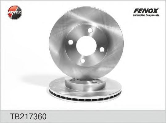 Диск тормозной Fenox, 2 шт. TB217360TB217360