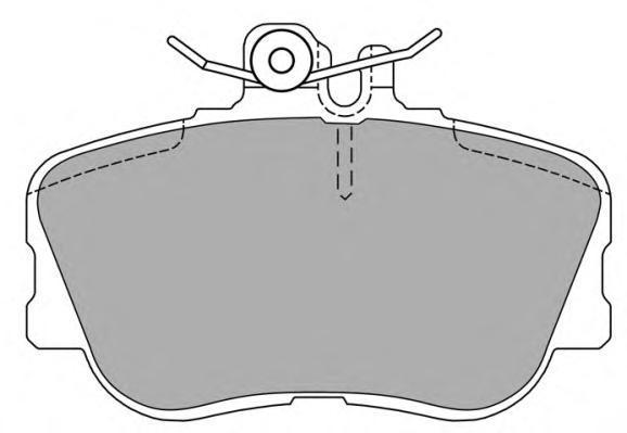 Колодки тормозные дисковые Fremax, комплект. FBP-0905FBP-0905