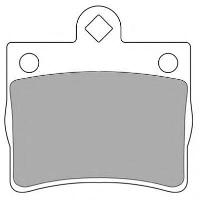 Колодки тормозные дисковые Fremax, комплект. FBP-1073FBP-1073