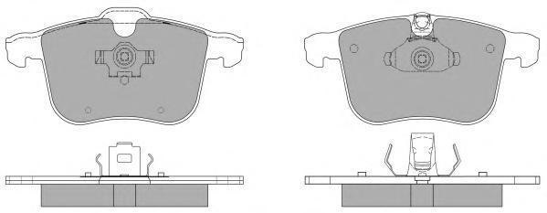 Колодки тормозные дисковые Fremax, комплект. FBP-1410FBP-1410