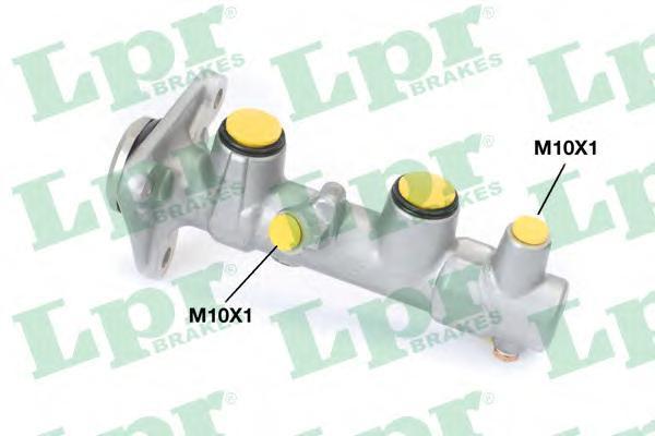 Колодки тормозные дисковые LPR / AP, комплект. 10471047