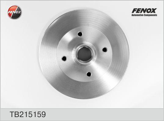 Диск тормозной Fenox. TB215159TB215159