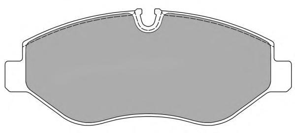 Колодки тормозные дисковые Fremax, комплект. FBP-1520FBP-1520