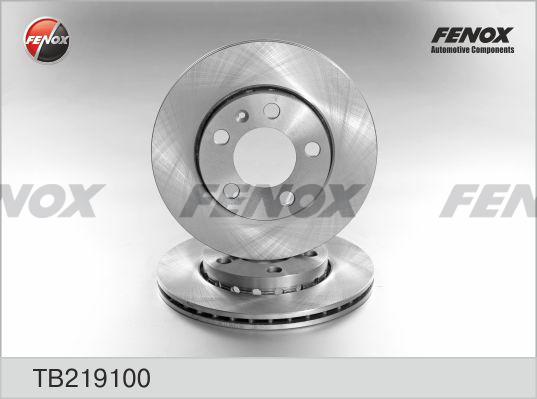 Диск тормозной Fenox, 2 шт. TB219100TB219100
