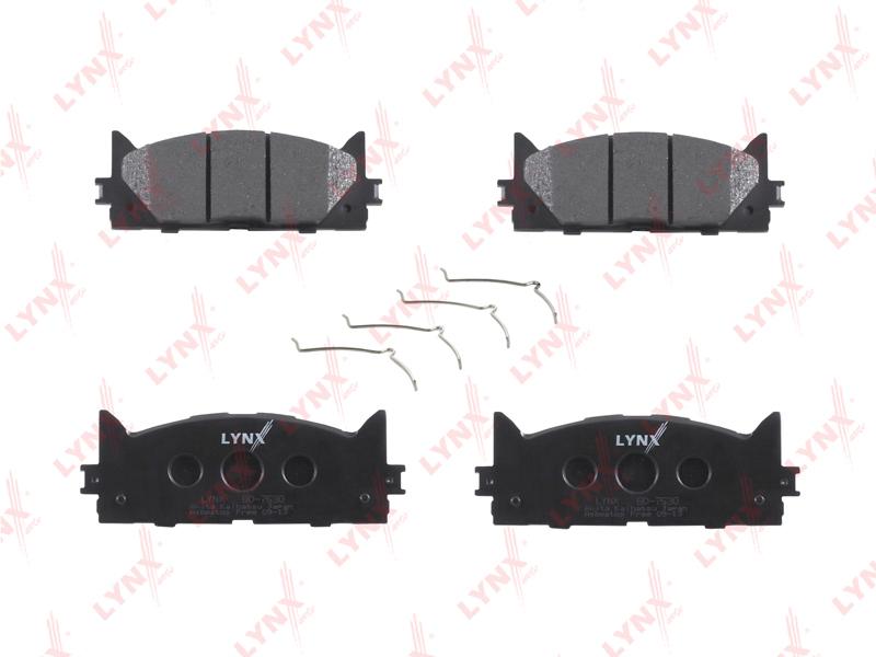 Колодки тормозные дисковые Lynx. BD-7530BD-7530