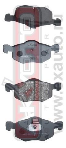 Колодки тормозные дисковые AKYOTO, передние. AKD-5805AKD-5805