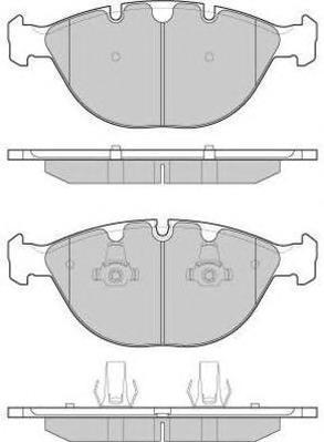 Колодки тормозные дисковые Fremax, комплект. FBP-1573FBP-1573