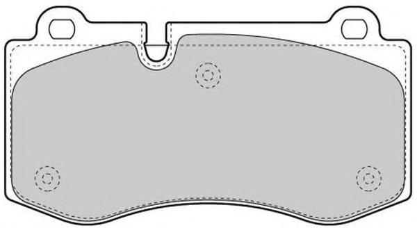 Колодки тормозные дисковые Fremax, комплект. FBP-1569FBP-1569