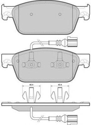 Колодки тормозные дисковые Fremax, комплект. FBP-1672FBP-1672
