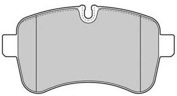 Колодки тормозные дисковые Fremax, комплект. FBP-1682FBP-1682