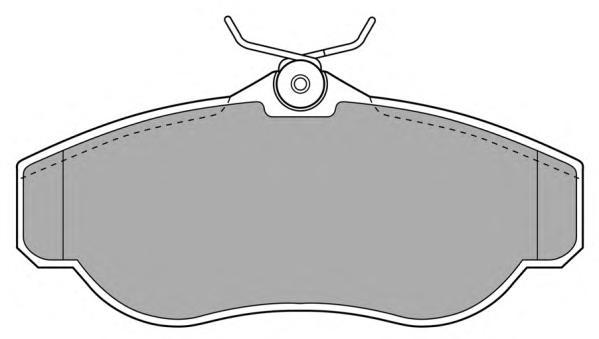 Колодки тормозные дисковые Fremax, комплект. FBP-0926FBP-0926
