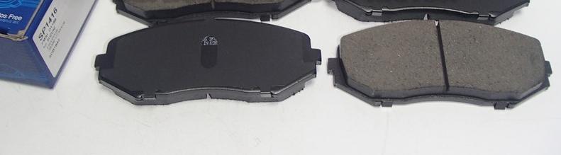 Колодки тормозные дисковые Sangsin. SP1416SP1416