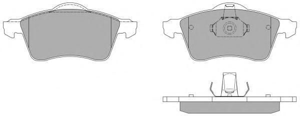 Колодки тормозные дисковые Fremax, комплект. FBP-1061FBP-1061