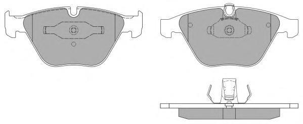 Колодки тормозные дисковые Fremax, комплект. FBP-1388FBP-1388