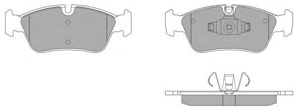Колодки тормозные дисковые Fremax, комплект. FBP-1401FBP-1401
