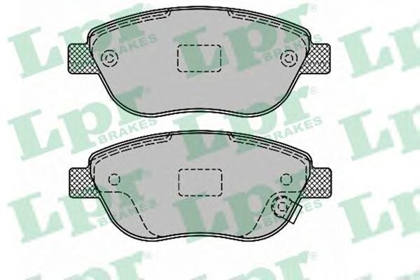 Колодки тормозные дисковые LPR / AP, передние. 05P132805P1328