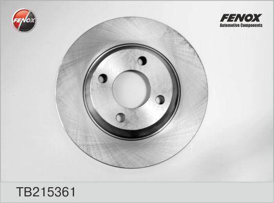 Диск тормозной Fenox, 2 шт. TB215361TB215361