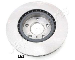 Диск тормозной Japanparts, передний, 2 шт. DI-163DI-163