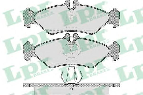 Колодки тормозные дисковые LPR / AP. 05P60905P609