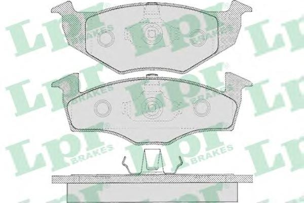 Колодки тормозные дисковые LPR / AP. 05P62705P627