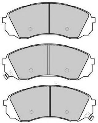 Колодки тормозные дисковые Fremax, комплект. FBP-1711FBP-1711