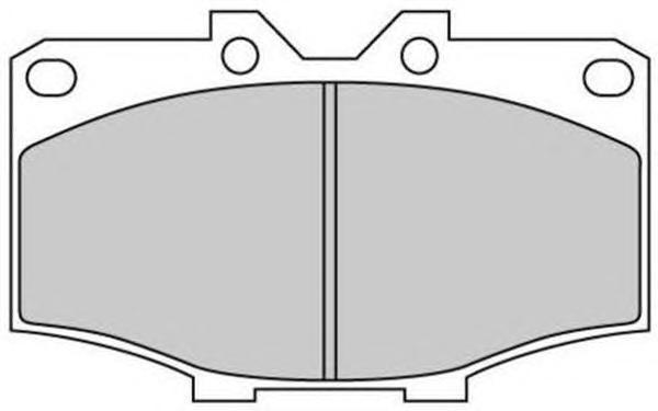Колодки тормозные дисковые Fremax, комплект. FBP-1739FBP-1739
