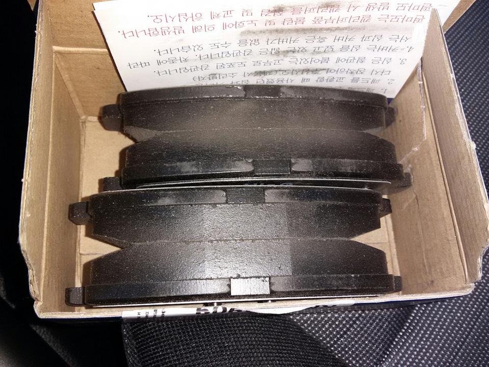 Колодки тормозные дисковые Sangsin, задние. SP1407SP1407
