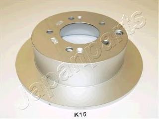 Диск тормозной Japanparts, 2 шт. DP-K15DP-K15