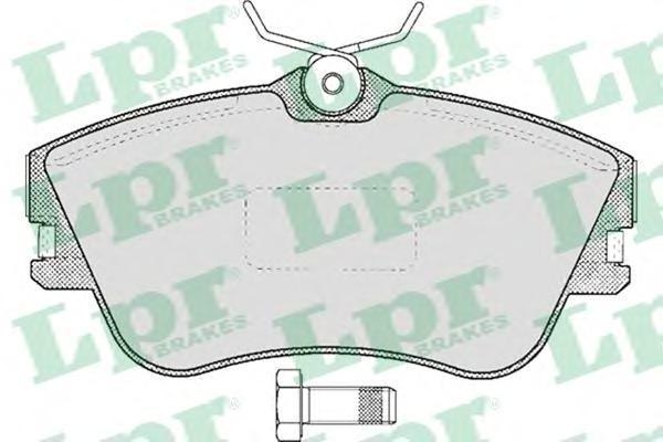 Колодки тормозные дисковые LPR / AP. 05P60505P605